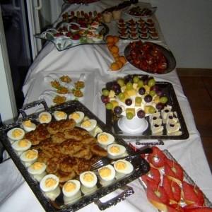 tipps und ideen f r ein buffet eine party ein fest. Black Bedroom Furniture Sets. Home Design Ideas
