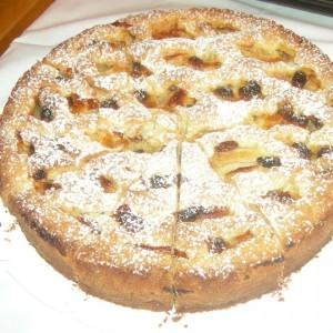 Apfel Gitter Kuchen