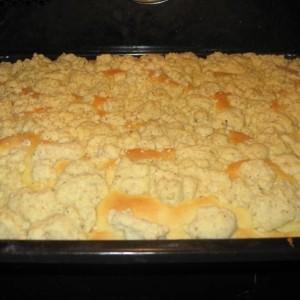 Mega Leckerer Und Saftiger Hefe Pudding Streusel Kuchen