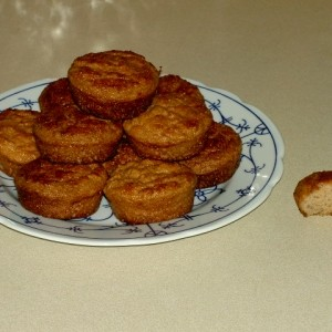 Low Carb Apfel Kokos Muffins