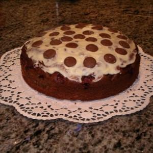 Schoko Mandel Kirsch Kuchen Sunde Pur
