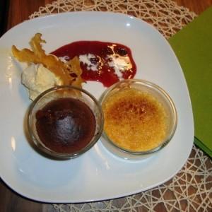 nachspeisen creme brulee schoko vulkan vanilleeis. Black Bedroom Furniture Sets. Home Design Ideas