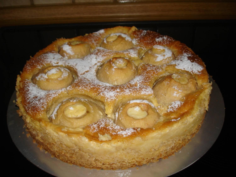 Apfel Pudding Kuchen Von Seepferdchen