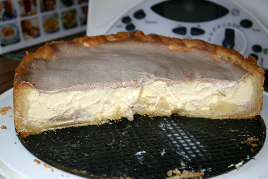 Birne Creme Fraiche Kuchen