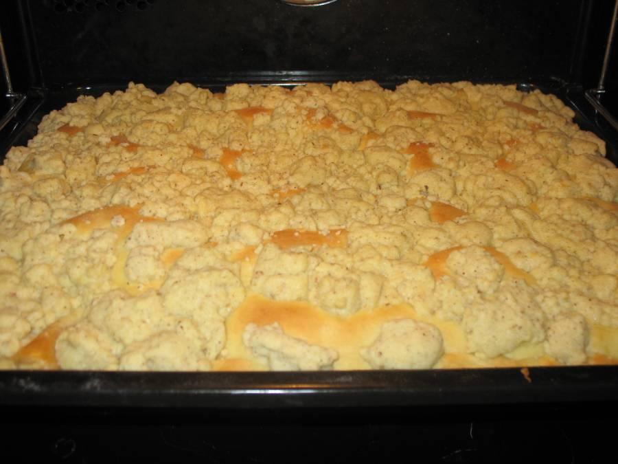 Hefeteig Pudding Streusel Kuchen