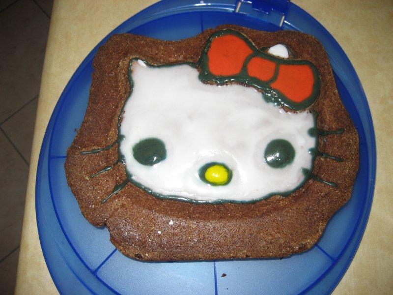 Hello Kitty Milchige Schnitten Kuchen