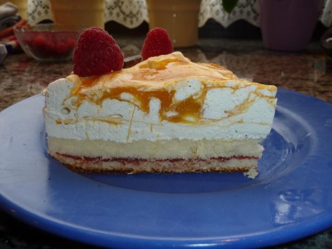 Mango Schmand Kuchen Superschnell Und Macht Schwer Was Her