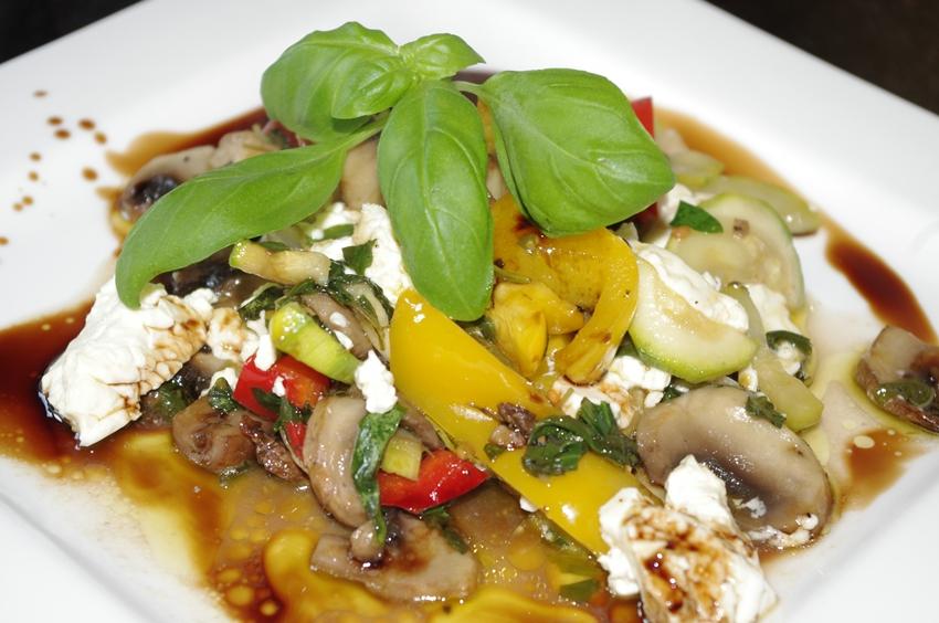 Mediterranes Gemüse aus dem Backofen  Mediterranes Ge...