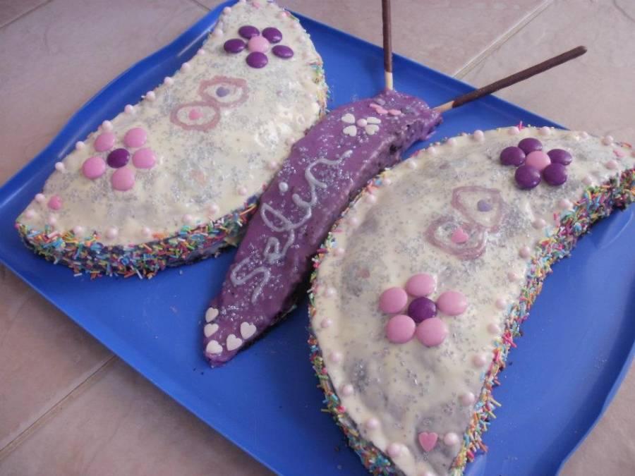 Schmetterling Geburtstagskuchen