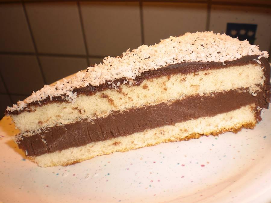 Schoko Kokos Torte Schnell Und Einfach Aber Lecker
