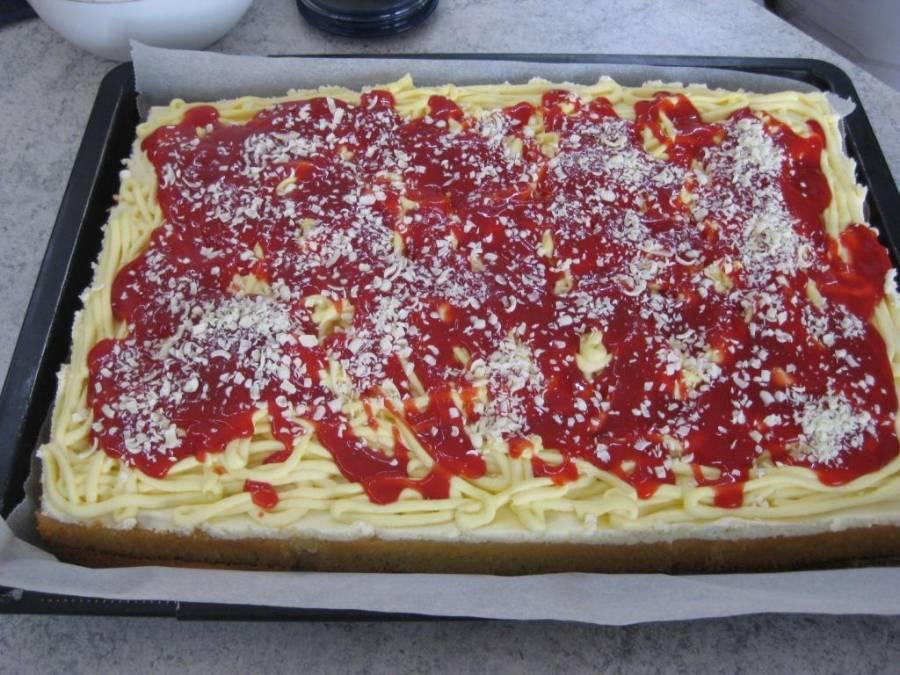 Spaghetti eis kuchen blech
