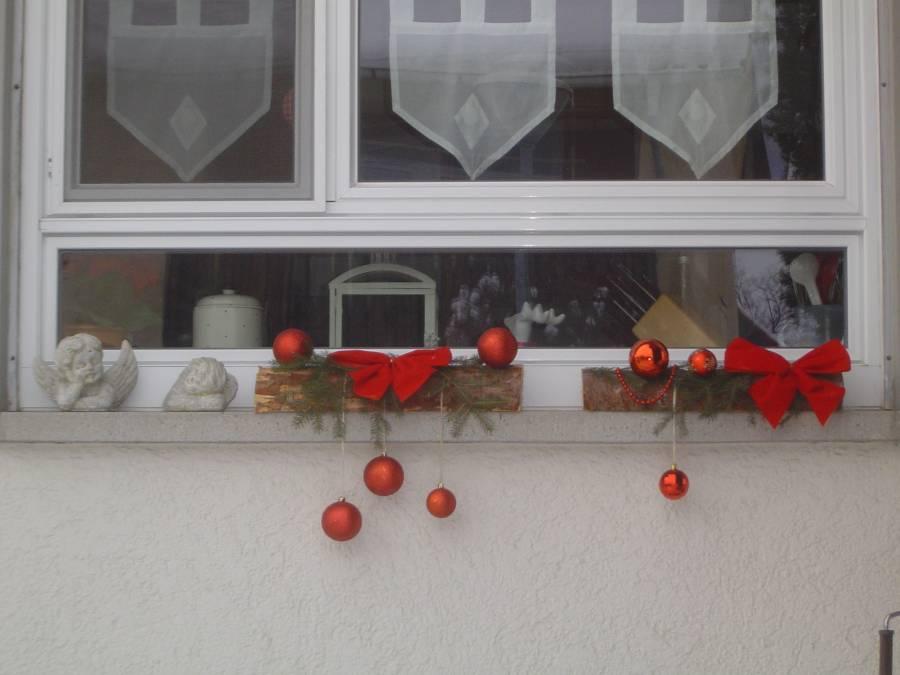 Weihnachtsdeko fur fenster draussen