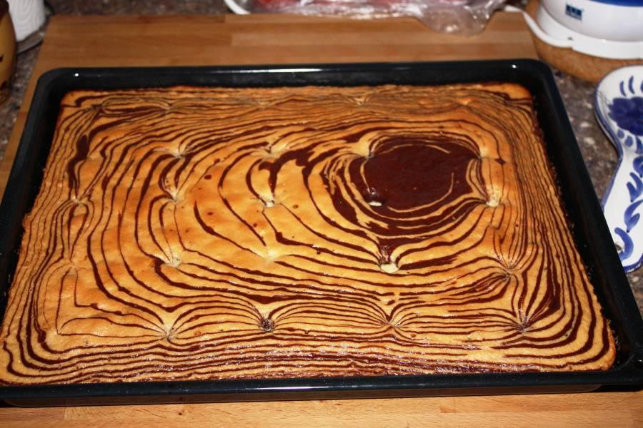 Zebra Kuchen Im Thermomix Hausrezepte Von Beliebten Kuchen